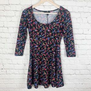 Forever 21 Floral Skater Dress